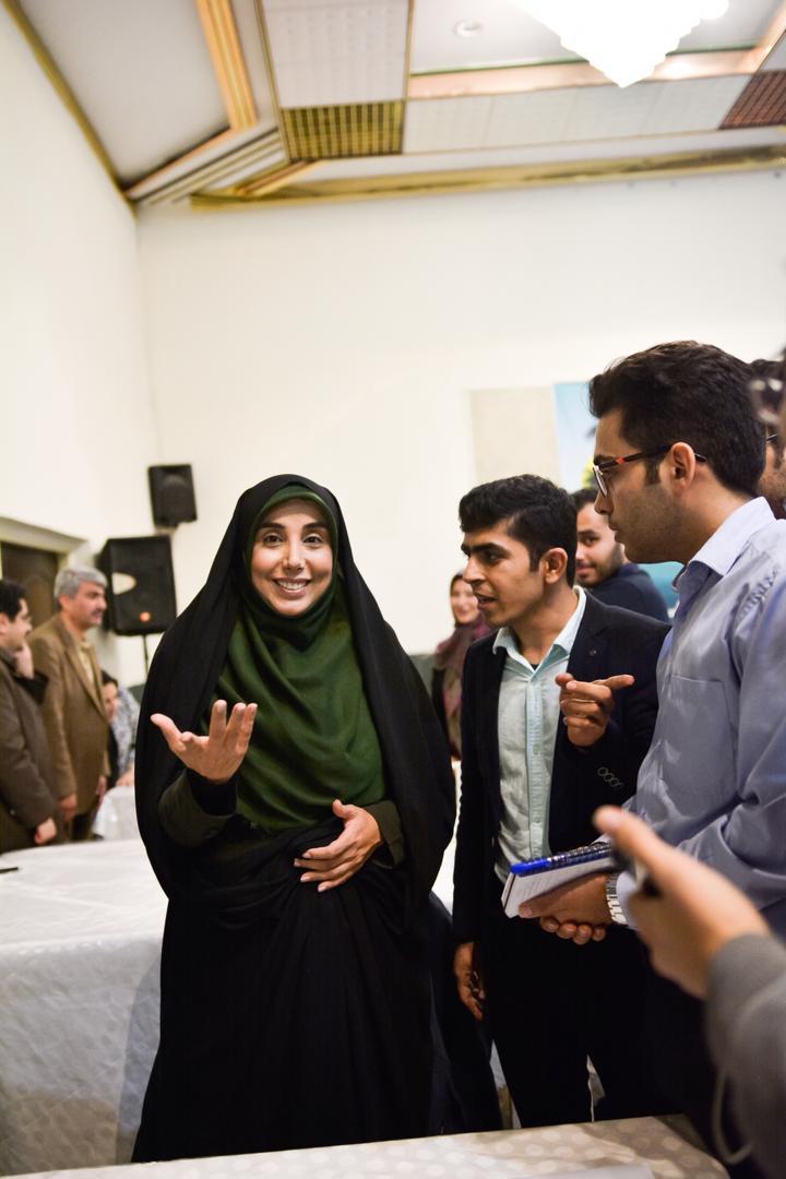 حضور دکتر سکینه الماسی در گرامیداشت روز دانشجو در دانشگاه تهران