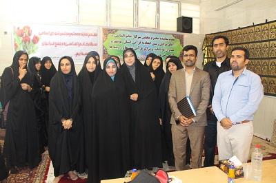 نشست مشترک مدیران موسسات و مراکز قرآنی مردمی حوزه جنوب استان بوشهر با دکتر سکینه الماسی