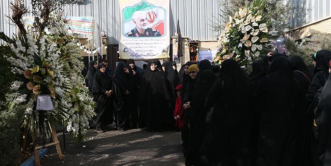 آمریکا بداند تصویر سردار سلیمانی در قلب مسلمانان حک شده است